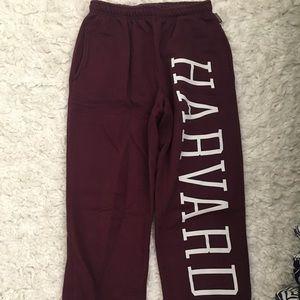 Harvard sweatpants